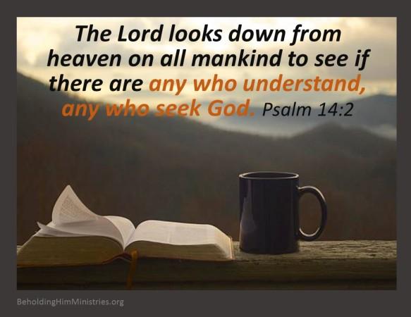 Psalm 14.2
