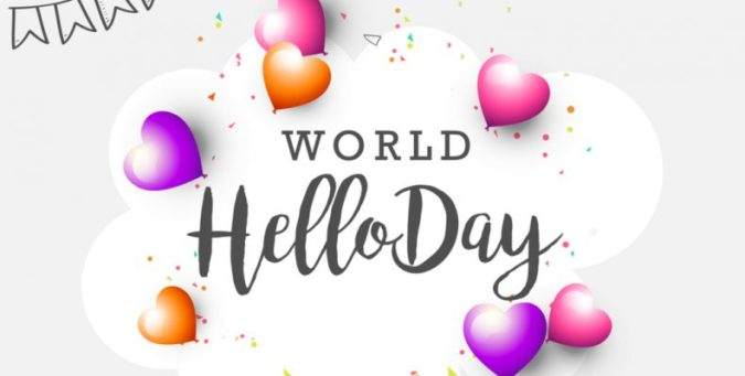 Image result for world hello day 2017